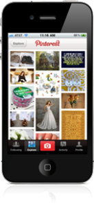 Pinterest iPhone App Screenshot