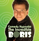 Hypnotist The Incredible BORIS Logo