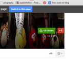 promote your gig on the largest google plus FIVERR page in the world 3k plus1s
